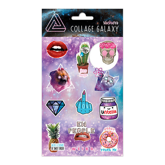 SET STICKERS COLLAGE A