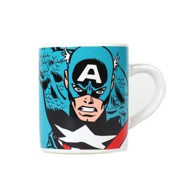 TAZA MINI MARVEL CAPTAIN AMERICA