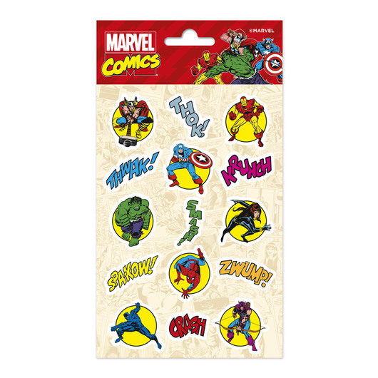 SET STICKERS MARVEL COMICS
