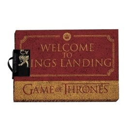 FELPUDO JUEGO DE TRONOS WELCOME TO KINGS LANDING