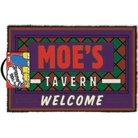 FELPUDO LOS SIMPSONS WELCOME MOE'S TAVERN