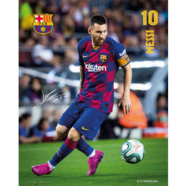 MINI POSTER FC BARCELONA 2019/2020 MESSI ACCION