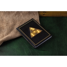 CUADERNO CON LUZ THE LEGEND OF ZELDA TRIFORCE