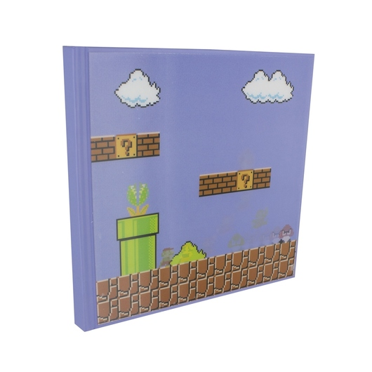CUADERNO 3D MOTION SUPER MARIO BROS