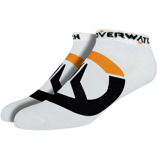PACK 3 CALCETINES OVERWATCH LOGO WHITE