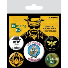 Pack Chapas Breaking Bad