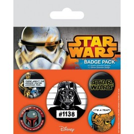 Pack De Chapas Star Wars (Cult)