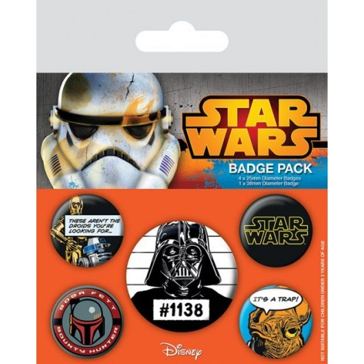 PACK CHAPAS STAR WARS (CULT)