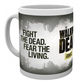 TAZA THE WALKING DEAD FIGHT THE DEAD