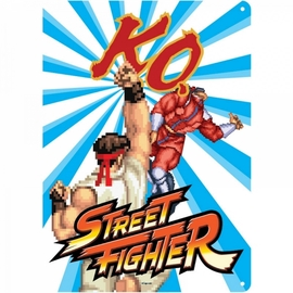 CHAPA METALICA STREET FIGHTER KO