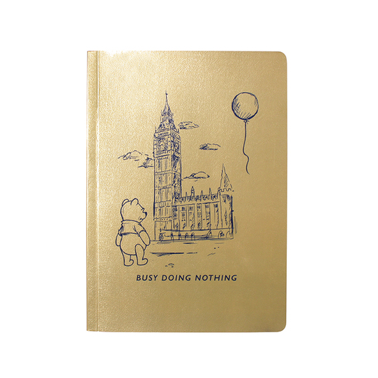 CUADERNO A5 DISNEY WINNIE THE POOH BUSY DOING NOTHING