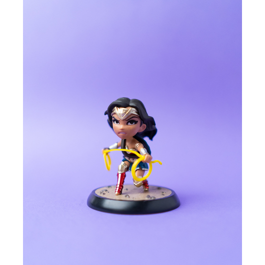 FIGURA QFIG DC COMICS WONDER WOMAN
