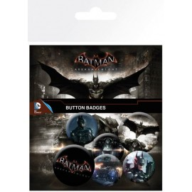 Pack Chapas Batman Arkham Knight Mix