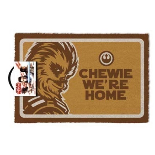 FELPUDO STAR WARS CHEWIE WERE HOME