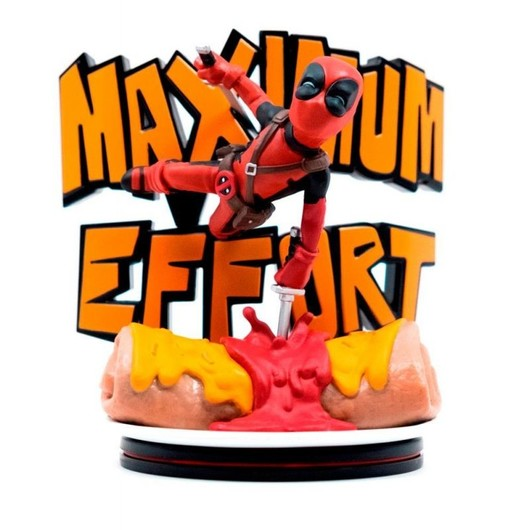 FIGURA QFIG MARVEL DEADPOOL MAXIMUM EFFORT