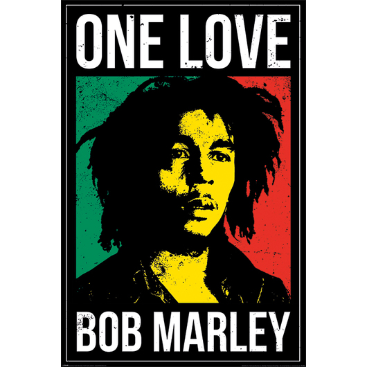 POSTER BOB MARLEY ONE LOVE