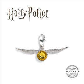 ABALORIO PARA COLGANTE SWAROVSKY HARRY POTTER GOLDEN SNITCH