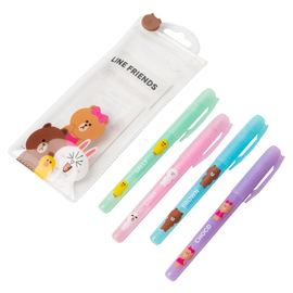 BOLIGRAFOS DE GEL LINE FRIENDS