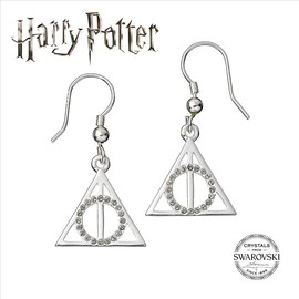PENDIENTES SWAROVSKY HARRY POTTER DEATHLY HALLOWS