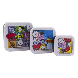 SET 3 CAJAS PARA SNACKS BT21