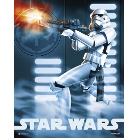 Mini Poster Star Wars Clon