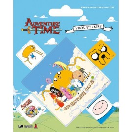 Sticker Vinyl- Adventure Time