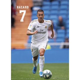 POSTAL REAL MADRID 2019/2020 HAZARD ACCION