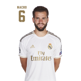 POSTAL REAL MADRID 2019/2020 NACHO BUSTO