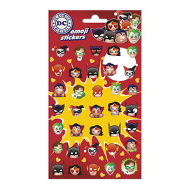 SET STICKERS DC COMICS EMOJI