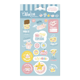 SET STICKERS CAROUGE B