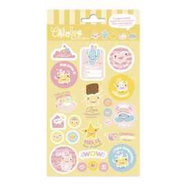 SET STICKERS CAROUGE C