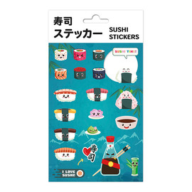SET STICKERS SUSHI
