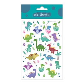 SET STICKERS DINOSAUR