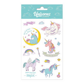 SET STICKERS UNICORN