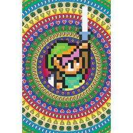 POSTER THE LEGEND OF ZELDA COLLECTABLES