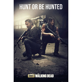 POSTER THE WALKING DEAD HUNT