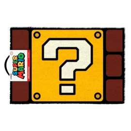 FELPUDO SUPER MARIO QUESTION MARK BLOCK