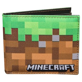 CARTERA MINECRAFT DIRT BLOCK MULTICOLOR