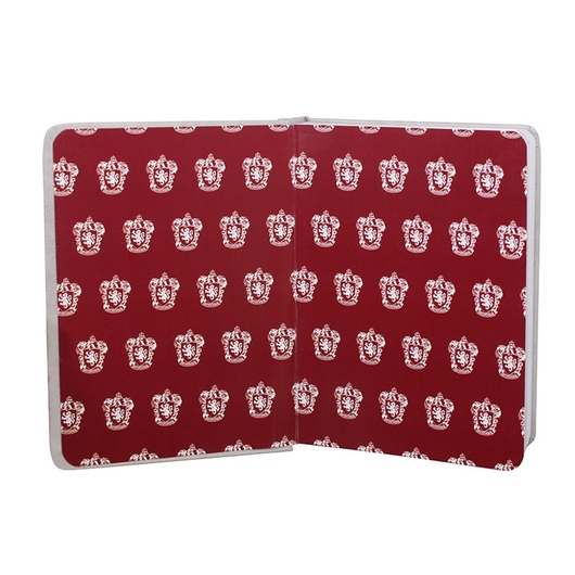 CUADERNO A7 HARRY POTTER GRYFFINDOR COMMON ROOM