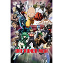 POSTER ONE PUNCH MAN COLLAGE