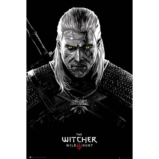 POSTER THE WITCHER TOXICITY POISONING