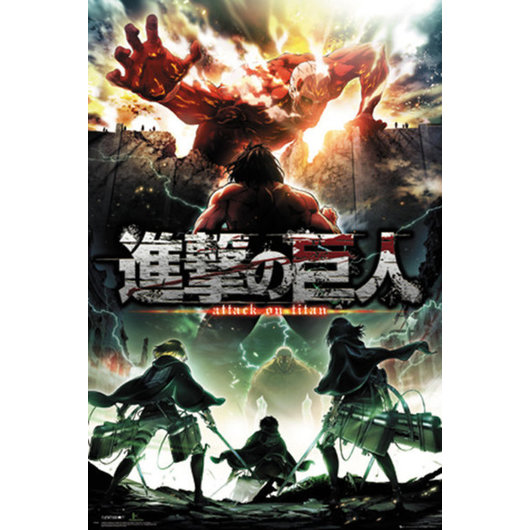 POSTER ATTACK ON TITAN SEASON 2 KEY ART