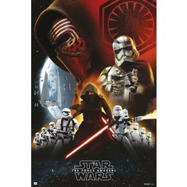 POSTER STAR WARS CLASSIC EMPIRE BLACK