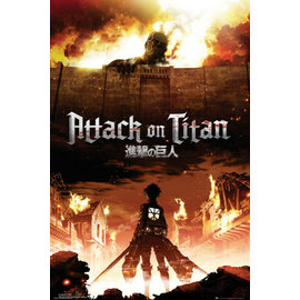 POSTER ATTACK ON TITAN KEY ART