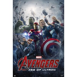 MAXI POSTER AVENGERS AGE OF ULTRON OFICIAL