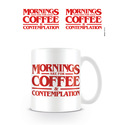 TAZA STRANGER THINGS COFFE AND CONTEMPLATION