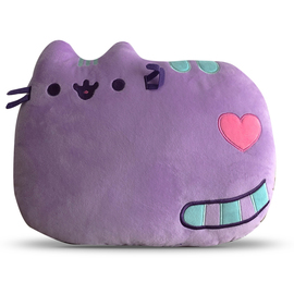 COJIN PUSHEEN LAYING DOWN PURPLE INDIGOLD