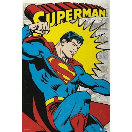 MAXI POSTER DC COMIC SUPERMAN