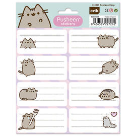 ETIQUETAS ADHESIVAS PUSHEEN THE CAT
