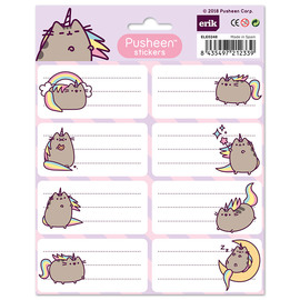 ETIQUETAS ADHESIVAS PUSHEEN THE CAT 2